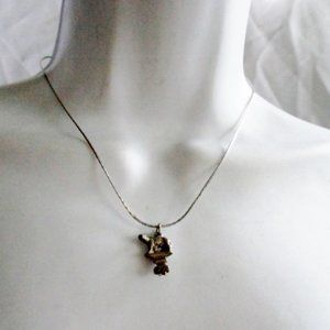 Jewelry - BEAR ANIMAL Pewter NECKLACE Steampunk CHOKER